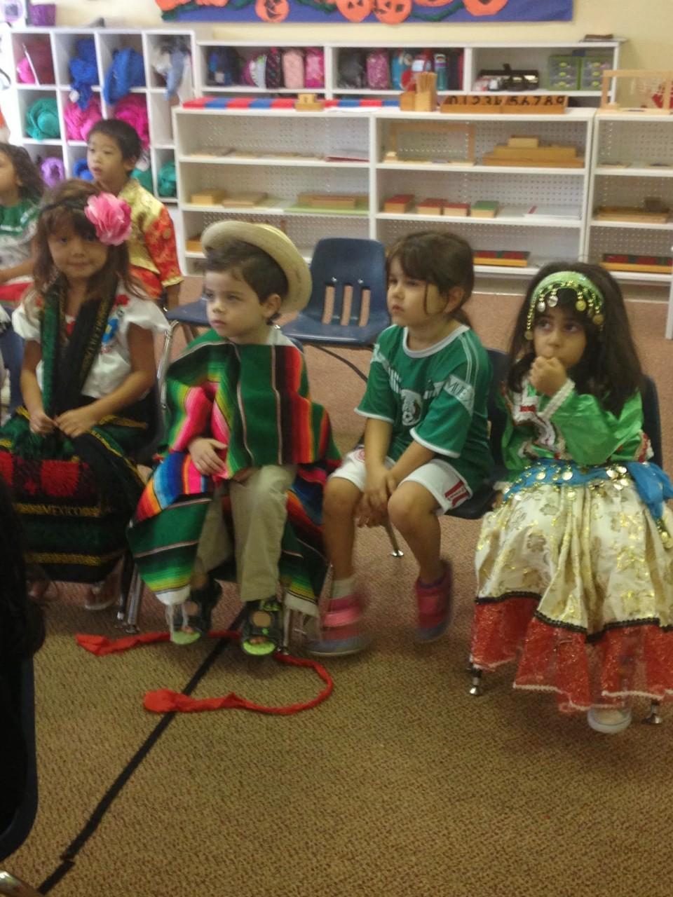 Celebrating Cultural Day.